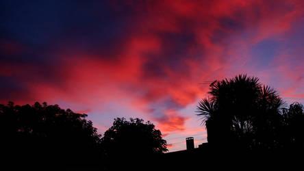 Roza y azul, cielo :D by Acv2Facundo