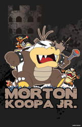 Morton Koopa Jr. by xXxllJMSllxXx