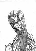 head by santiagocomics