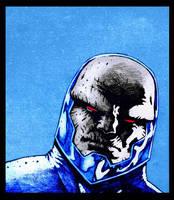 Darkseid by santiagocomics