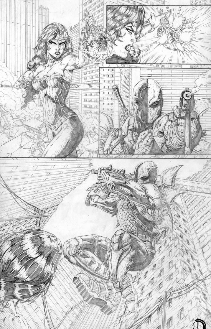 DC Online page 6 by santiagocomics