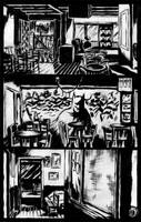 SanEspina background page by santiagocomics
