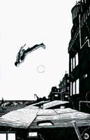 SanEspina Daredevil Cover by santiagocomics