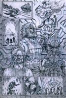 SanEspina Inhumans page2 pencils by santiagocomics
