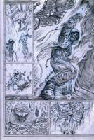 SanEspina Inhumans page3 pencils by santiagocomics
