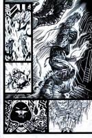 SanEspina Inhumans page3 ink by santiagocomics