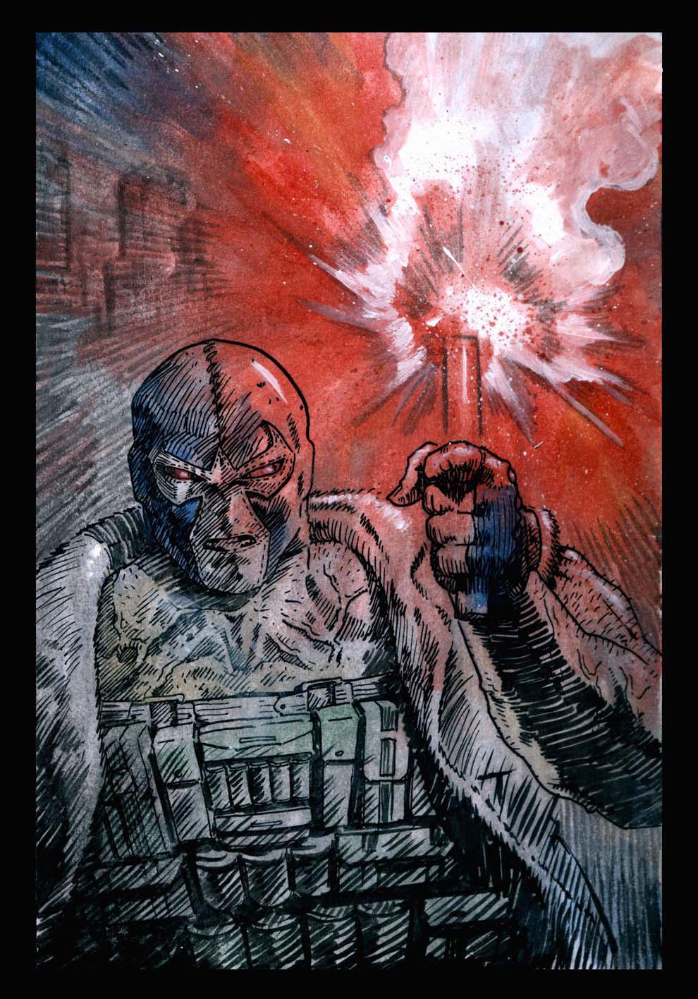 Bane by santiagocomics