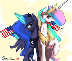 Happy 4th of July by SakuraCheetah