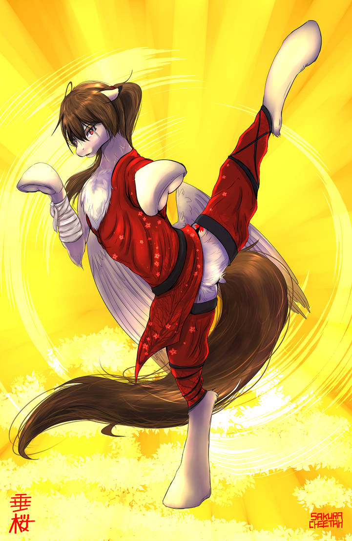 Kung Fu Pony by SakuraCheetah
