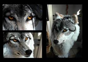 Wolf Mask by afiriti