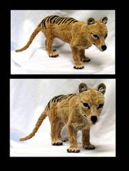 Thylacine by afiriti