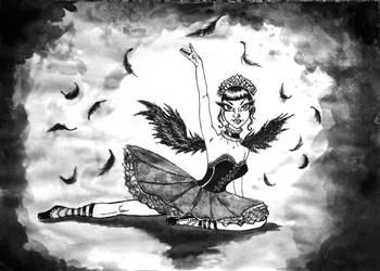Black Swan by Inchukalns