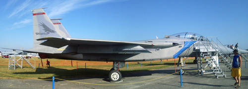 Abbotsford Airshow 2012: F15 by JimFoxyBoy