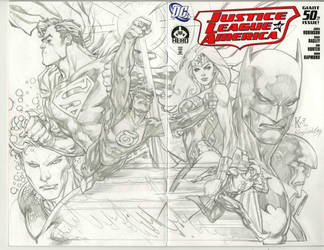 better scan..jla by ledkilla