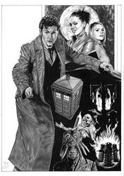 Doctor Who by J-Redd