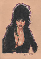 Elvira - Mistress Of The Dark by J-Redd