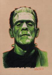 Frankenstein's Monster by J-Redd