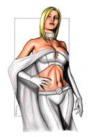 The White Queen - Pin-up by J-Redd