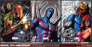 Marvel 70th Sketch Cards 14 by J-Redd