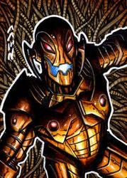 Age of Ultron Sketch Card by J-Redd