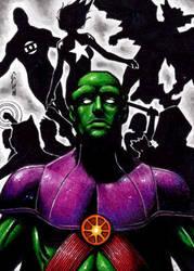 Martian Manhunter - Justice League of America by J-Redd
