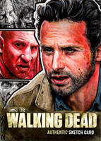 The Walking Dead Artist Proof Sketch Card by J-Redd