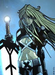 Magik - X-Men - Finished Artwork by J-Redd