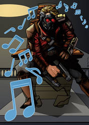 Star Lord - Guardians of the Galaxy by J-Redd