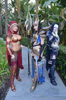 Jessica Nigri, Kamui and I by andyrae