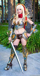 World of Warcraft- Paladin by andyrae
