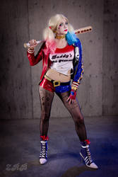 Suicide Squad Movie Harley Quinn!!!! by andyrae