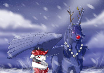 Winter wasteland by LuckyDragoness
