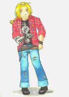 FMA - Punk-Rock Ed by vidramidra