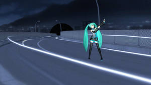 -MMD- Strobo Nights stage DL by KasugaKaoru