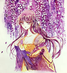 Chinese wisteria by killua11235
