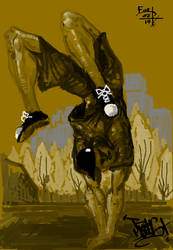 Breakdance #4 by 92Ronald