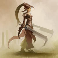 Sword Dancer by HrvojeBeslic