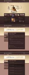 qi shi website by sense983