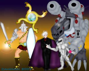 The 4 Horsemen of Destruction by infodigiusa