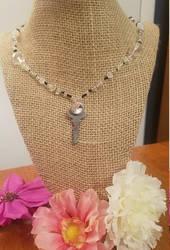 Found Art Key Necklace by FROdominatrix