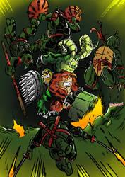 Tmnt vs.Battletoads by JohnsDead