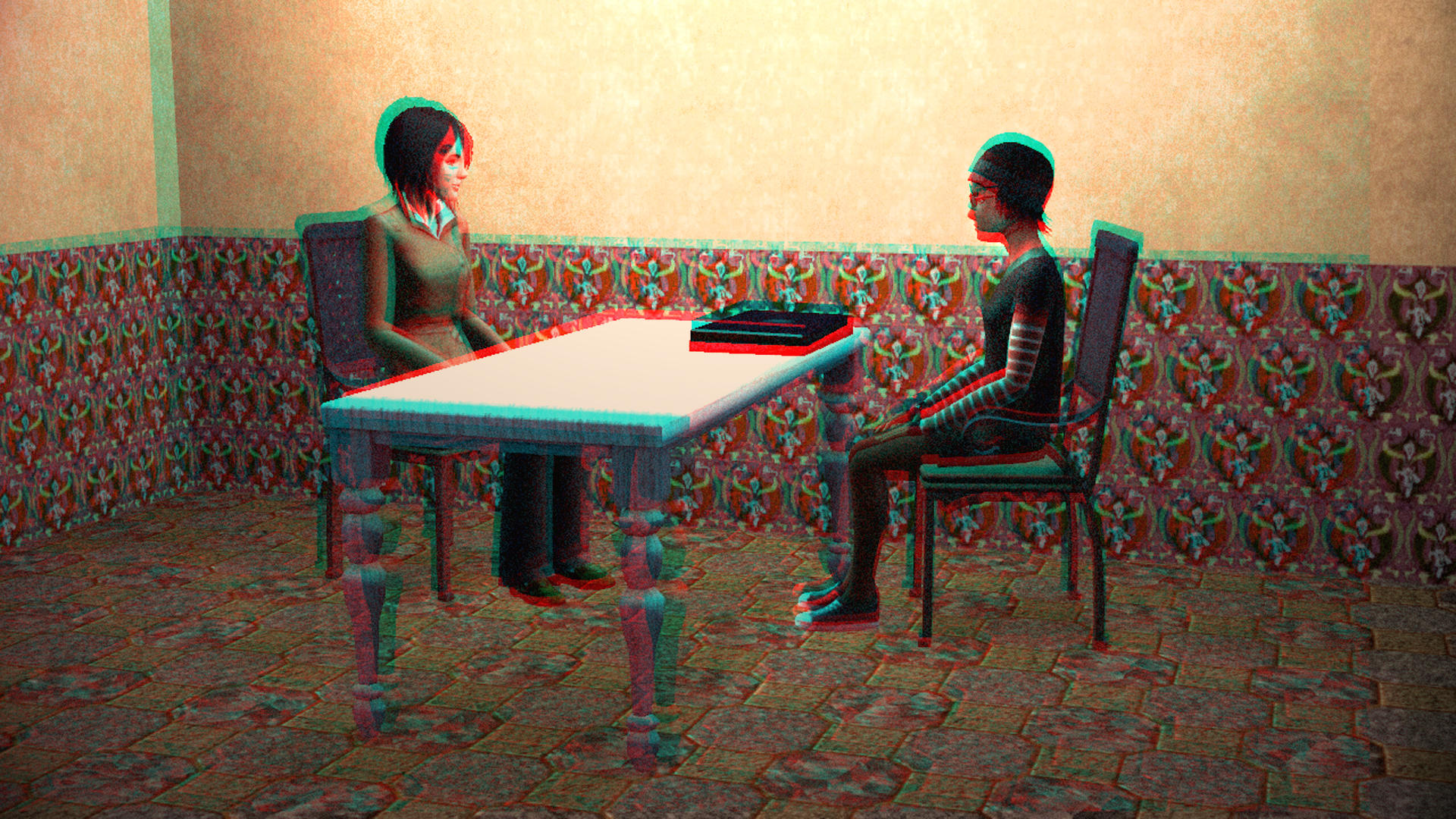 Together, We Will Catch Them 3D Red-Cyan by BulldozerIvan