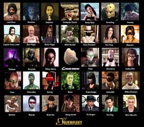 Gerosha Universe Heroes by BulldozerIvan