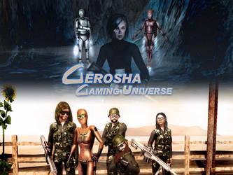Gerosha Gaming Universe Card by BulldozerIvan