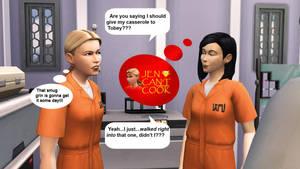 Jen Can't Cook by BulldozerIvan