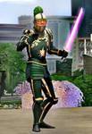 Volkonir: Golden Lion Cortascian Knight by BulldozerIvan