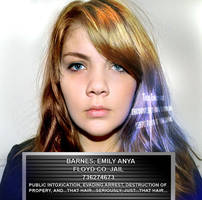 Emily Barnes Mugshot by BulldozerIvan