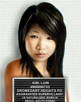 Luin Kim Mugshot by BulldozerIvan