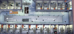 Camelorum 2nd Floor cell blocks by BulldozerIvan