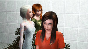 Carly (sort of) helps the Arrendale Sisters by BulldozerIvan